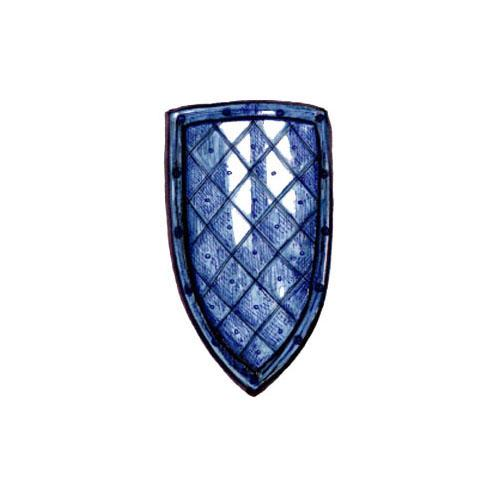 Scudo Medievale A Punta