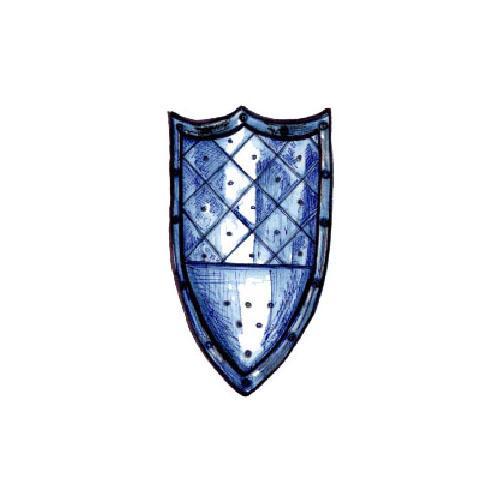 Scudo Medievale a Tre Punte