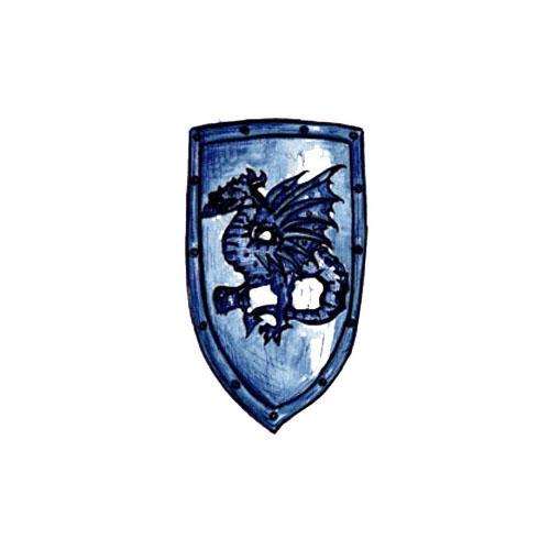 Shield Crest Winged Dragon