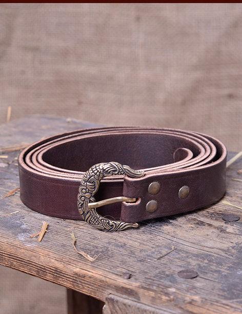 Cintura in cuoio - Cintura Vichinga