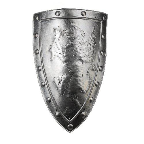 Medieval Aluminum Shield with emblem Gryphon