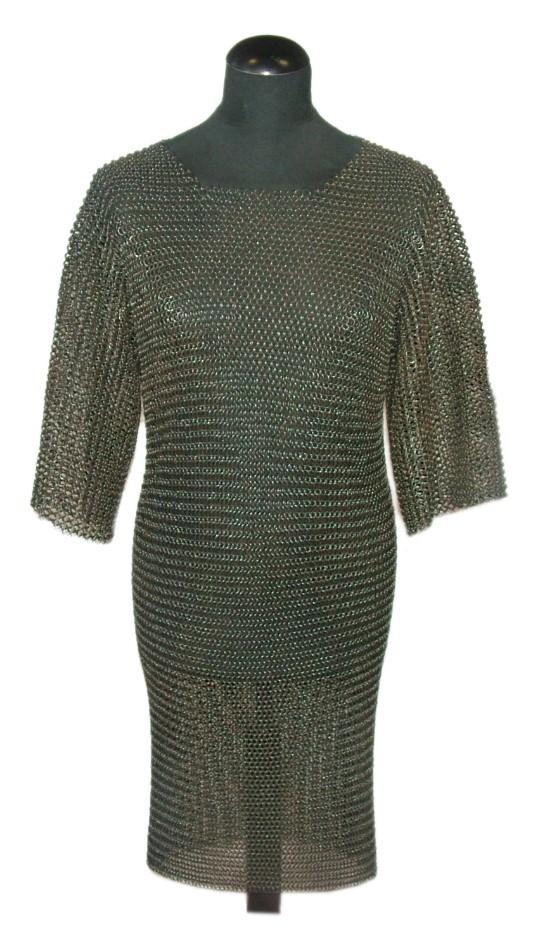 Cotta di maglia brunita - Usbergo