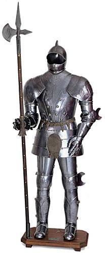 Armatura Medievale - Armatura con lancia