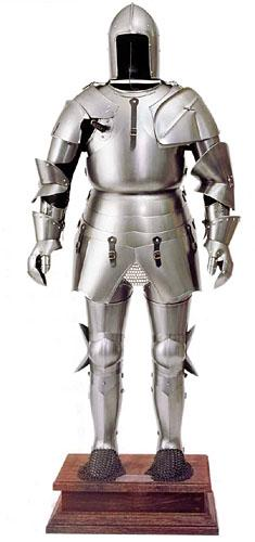 Armatura  medievale storica