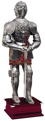 Armatura Medievale - Acciaio Inciso
