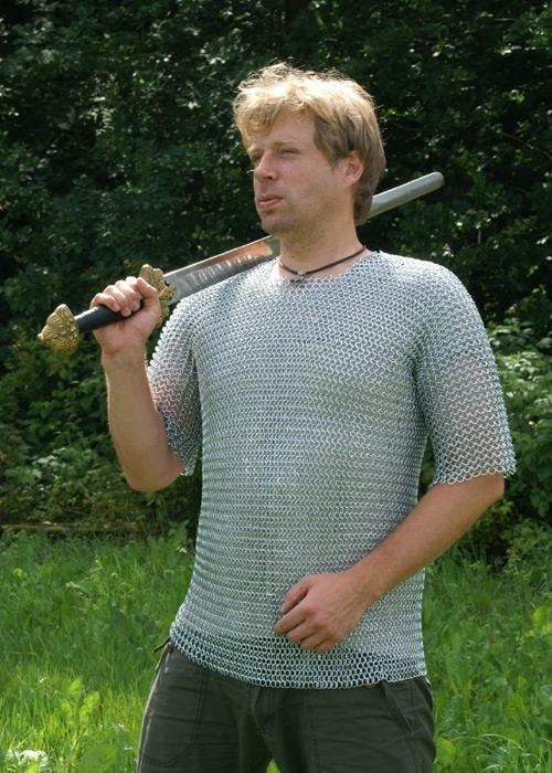Chainmail, Short-sleeved  (size XL - ID 9mm)