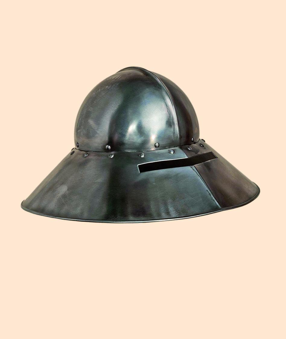Cappello D'Arme Tedesca - Elmo Medievale
