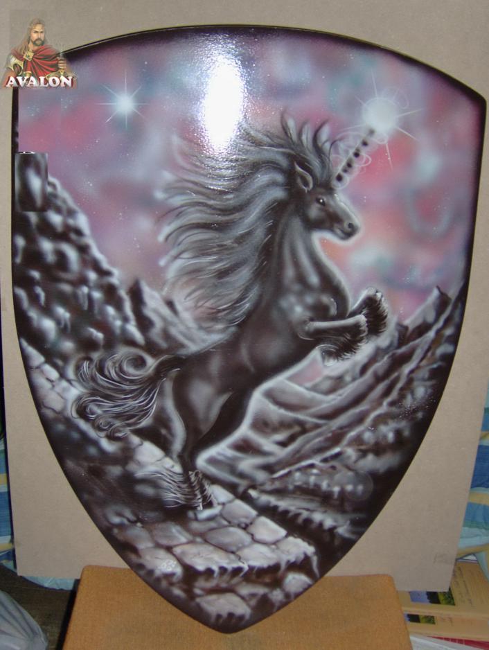 Scudo con Unicorno