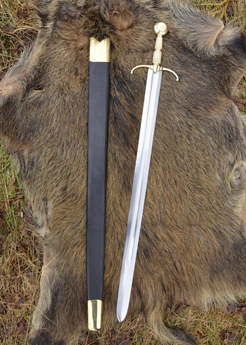 Spada Guinegate - Spada Tardo Medievale