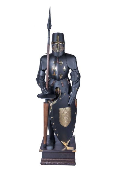 Armatura Medievale da Torneo Armatura Scudo Lancia