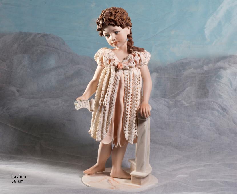 Bomboniere porcellana scultura porcellana capodimonte lavinia