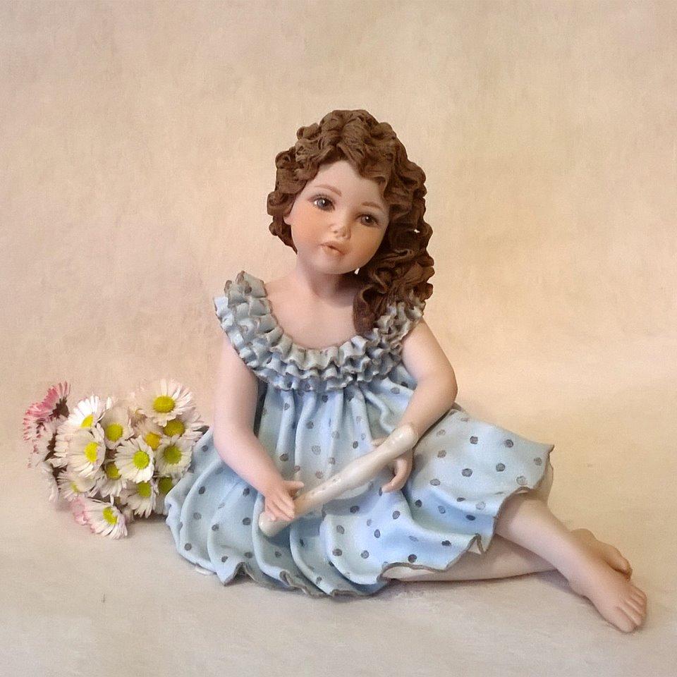 Scultura in porcellana - Pamina